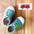 Stick Chaussures Maternelle Garçon Camion Pompiers 0