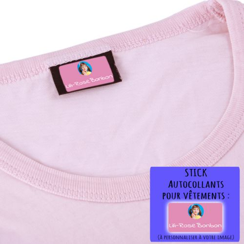 Stick-on Clothing Labels