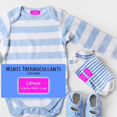 Minis Etiquettes Thermocollantes chaussettes